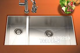 good sized sink 33 undermount double bowl kitchen stainless steel sink mt 337l in