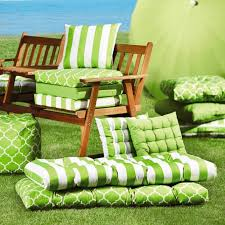 amazing adirondack chair cushions design ideas with cool green fabric design ideas and patio furniture also