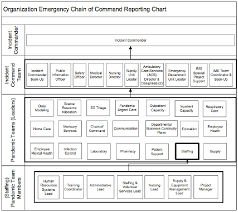 Organization Chain Of Command Emergency Reporting Chart