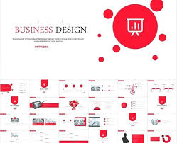Best Red Business Slides Templates The Highest Quality Red
