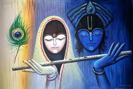 Radhe Krishna Pic Hwb31390 - Abstract ...