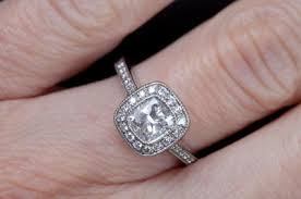 guide to cushion cut diamond engagement rings lovetoknow
