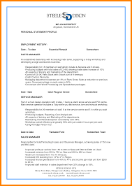 Example Of Perfect Resume Assistant Manager Resume Sample Sample