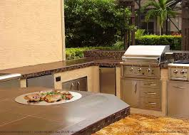 most people do a 30 inch grill an outdoor fridge a burner and a sink says zury jaeger owner and outdoor kitchen designer of dreamscapes by zury in