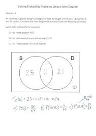 Venn Diagram Practice Sheets Math Problems Using Venn Diagram Stnicholaseriecounty Com