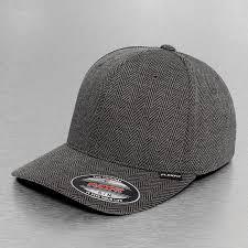 Flexfit Mesh Back Hats Flexfit Cap Flexfitted Heringbone