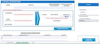 Inventario Excel Descargas Contables Plantilla Excel Control De Inventario