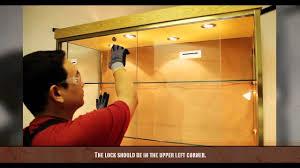 diy sliding glass cabinet door designs