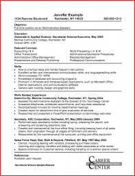 Formidable Office Assistant Resume Skills For Sample Resume .
