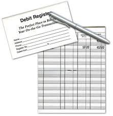 Checkbook Registers For Your Checking Account | 4Checks