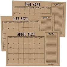 Thursday, october 15 at 11:59 p.m. Amazon Com Rustic Kraft 2021 2022 Desk Calendar Large Monthly Wall Planner 18 Month Academic Desktop Calendar Or Fridge Planning Blotter Pad Simple Notes Section For Teacher Family Or Business Office 11x17 Office Products