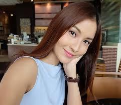 Beautiful asian woman sort