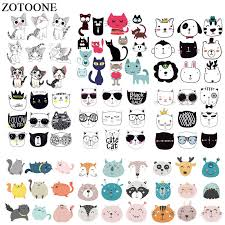 <b>ZOTOONE Cute</b> Emjoi Sequin Patches Stickers <b>Iron</b> on Clothes Heat ...