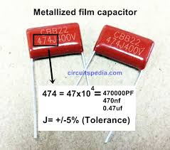 Polyester Capacitor Value Chart How To Read Capacitor Code Value Ceramic Capacitor Code Chart