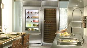 High End Fridges Glass Door Refrigerator Freezer Residential