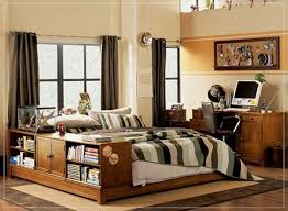 Small Rustic Bedroom Rustic Bedroom Ideas For Boys With Wooden Floor Also Cream Wall