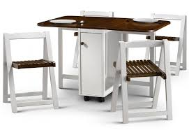 fold away table and chairs set. folding dining table and chairs white fold away set