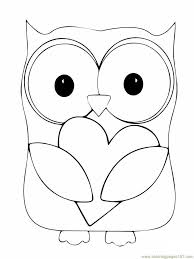 Small Picture Owl Coloring Pages For Kids Cute Owl Coloring Pages To Print