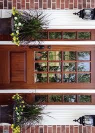 garage door insertsdoor  Beautiful Door Window Inserts Epic Red Front Door Design In