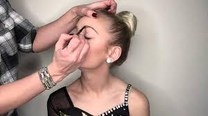 dance peion makeup tutorial