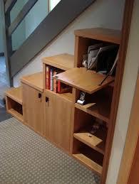 Pantry Under Stairs Storage Organization Hidden Stair Shelves Inside Stair Closet