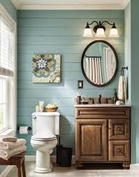 Colorful Ideas To Visually Enlarge Your Small Bathroom Small Small Bathroom Colors