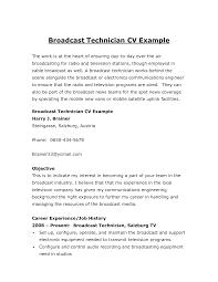 Resume Cable Technician Resume