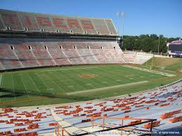 Clemson Memorial Stadium View From Section Uh Vivid Seats