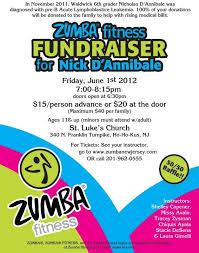 Fundraiser Template Flyer Free Zumba Fundraiser Flyer Template Egou