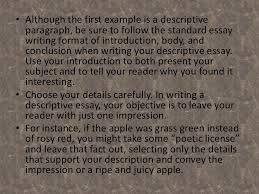 english descriptive writing 18 when writing a descriptive essay start buildingyour