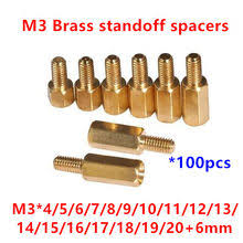 m2 hex brass male female standoff pillar board stud metric hexagon threaded pcb motherboard spacer hollow bolt screw long nut
