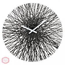Купить <b>Часы настенные Silk</b> Black Черный Koziol в каталоге ...