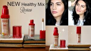 Bourjois Healthy Mix Foundation Healthy Mix Concealer Review Application Natasha Summar