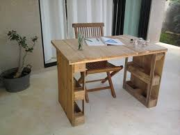 pallet desk easy diy furniture ideas recycled pallets diy home office desk recycled