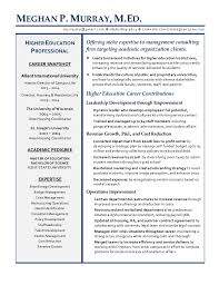 ... Consultant Higher Education | Resume. MEGHAN P. MURRAY, M.ED.  murraymp@gmail.com  (
