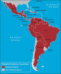 south & central america & caribbean travel vaccines and malaria Map Of Usa And Cancun Mexico malaria endemic countries in south & central america map of us and cancun mexico