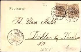 Ansichtskarte / Postkarte Oschatz Nordsachsen, Georg Hellmich in ... - 652829r