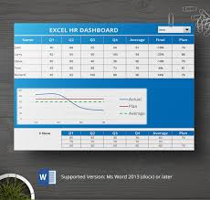 hr dashboard in excel 8 free hr dashboard templates behaviour graph excel free
