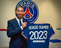 باريس سان جيرمان يضم سيرجيو راموس إلى صفوفه لمدة عامين