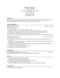 Financial Service Representative Resume Objective Inspirational ... Resume  Examples Sales Advisor Job Description Image