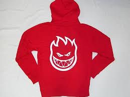 spitfire hoodie kids. spitfire spitfire bighead, bighead zip hood hoodie red kids p