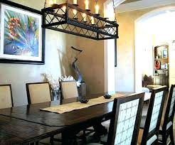 chandelier for dining table rustic chandeliers crystal chandelier over dining table