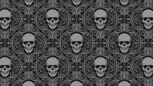 Skull Wallpaper For Bedroom Metal Background Wallpaper 1920x1200 81228