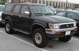 1995 Toyota 4Runner - Information and photos - ZombieDrive