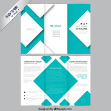 brochure template brochure template with squares vector free download