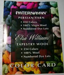Paternayan Yarn Conversion Chart Details About Paternayan Elsa Williams Yarn Picture Color