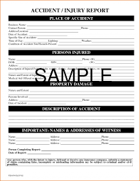 Incident Report Form Template Word New Appendix M Sample Airport