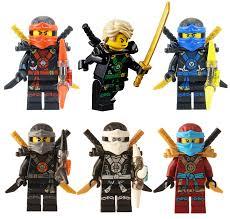 Buy Lego Ninjago Tm: Ninjas Set Of 6 Lloyd, Nya, Zane, Cole, Jay, Kai  Deepstone Minifigures Online at Low Prices in India - Amazon.in