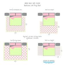 rug under queen bed area size guide king top right for best