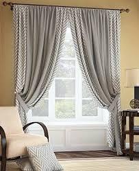 <b>Комплект штор</b> «Менка» серого цвета | Шторы для гостиной ...